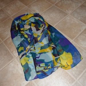 Running Horse Chiffon Scarf Choice of Color